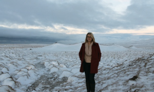 Hannah Kent in Iceland